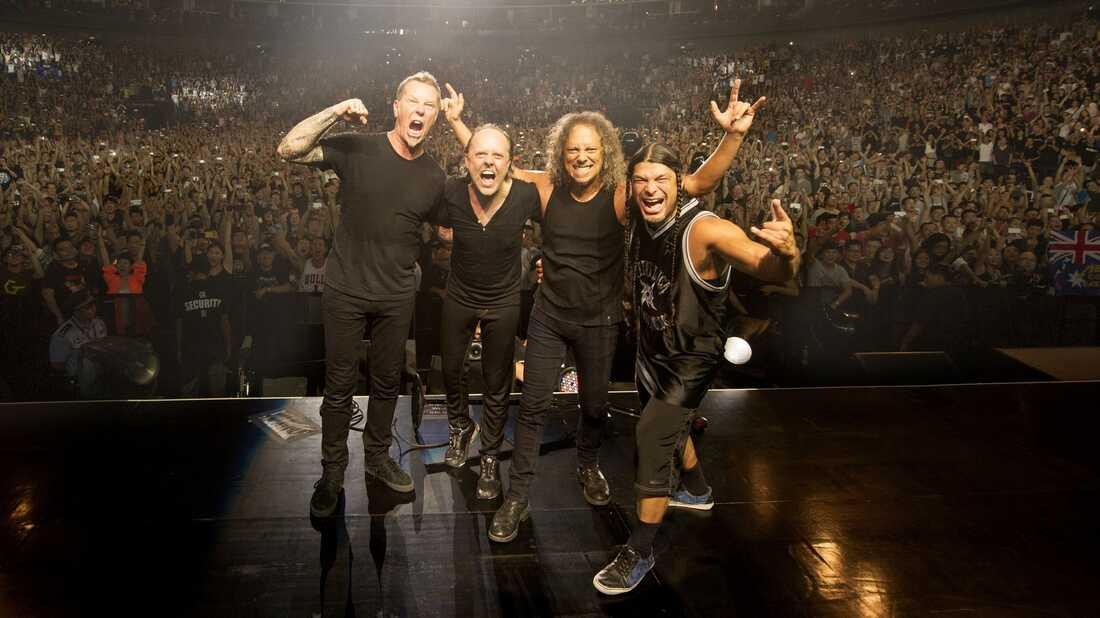 An American Headliner In China: Metallica's Shanghai Debut
