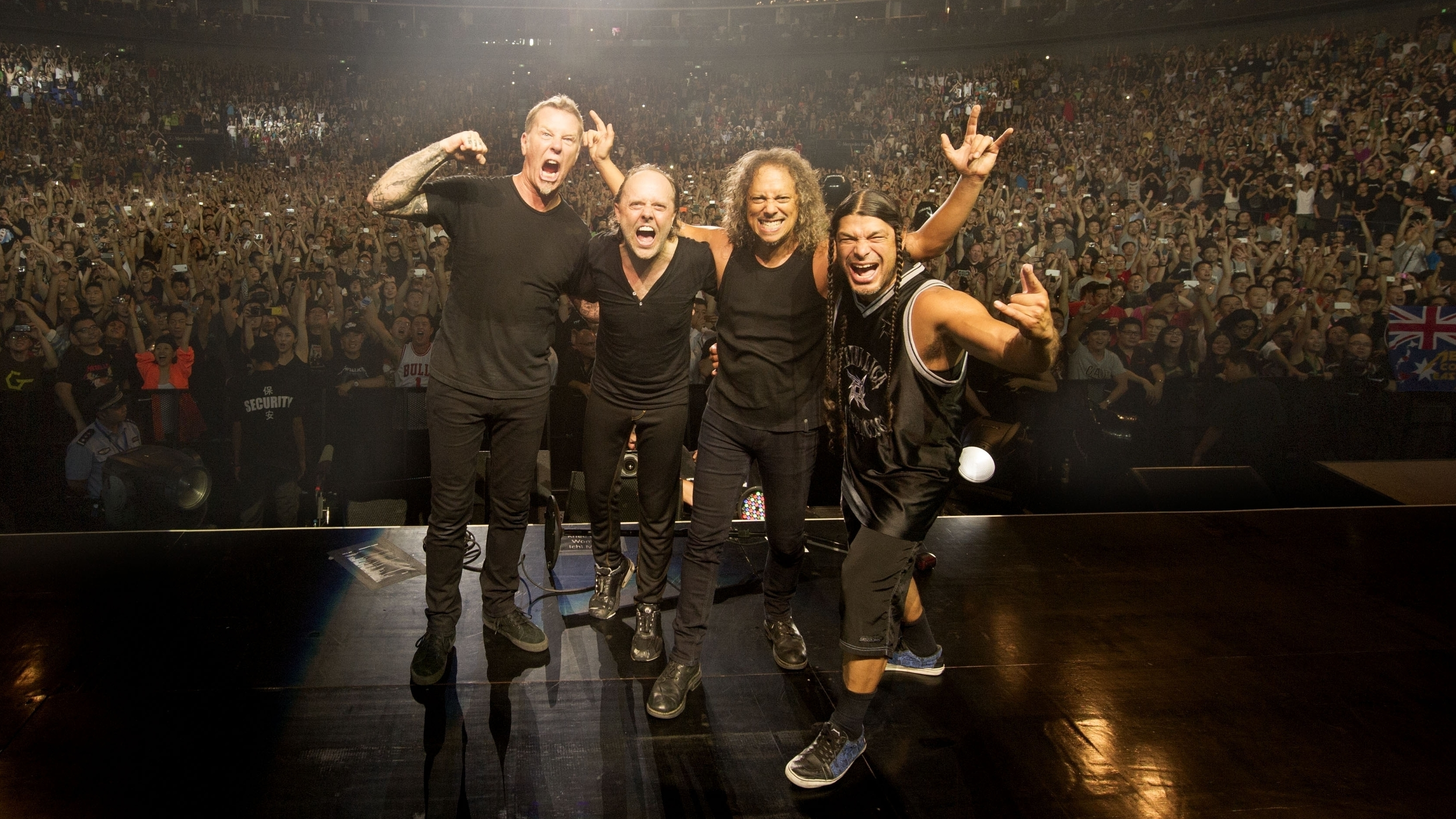 an american headliner in china metallica 39 s shanghai debut ncpr news. Black Bedroom Furniture Sets. Home Design Ideas