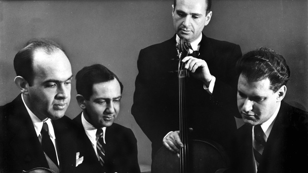 A new collection of Brahms and Mozart recordings by the Stuyvesant Quartet from 1947 conveys a kind of inward grace. (Courtesy of the artist)