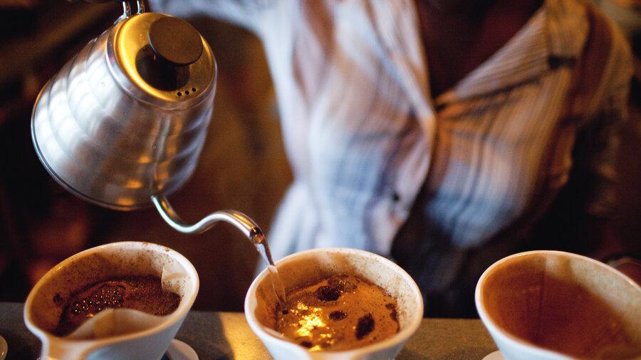 Coffee Cups With Coffee