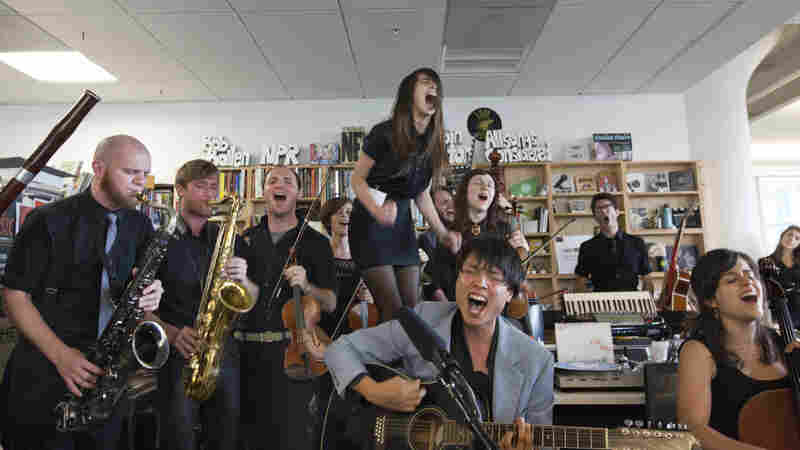 Mother Falcon: Tiny Desk Concert