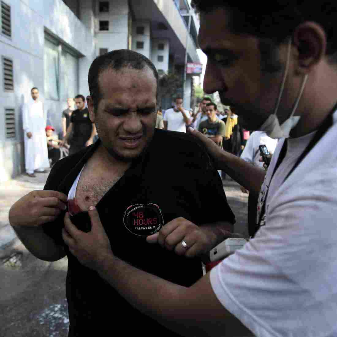 In Egypt: 'Day Of Rage' Adds To Body Count