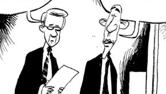 Double Take 'Toons: Not Seriously Accountable? : NPR