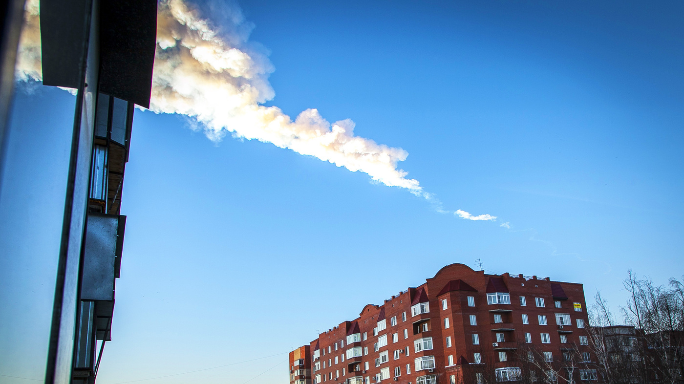 NASA: Meteor In Russia Threw Up Globe-Girdling Plume Of Debris