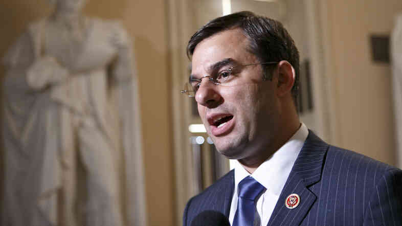 "Rep. Justin Amash of Michigan, a libertarian Republican, says recent surveillance leaks have ""brought home"" libertarian ideas."