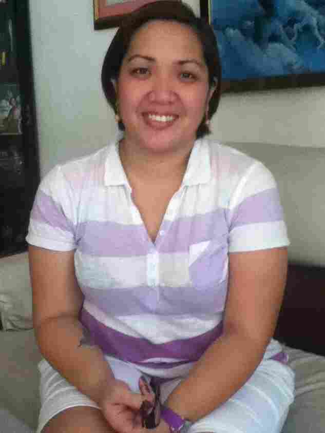 Patricia Ballesteros had to return to the Philippines after her mother passed away in March. She is still waiting to get her papers in order so she can return to the United States and continue working as a nanny in New Jersey.