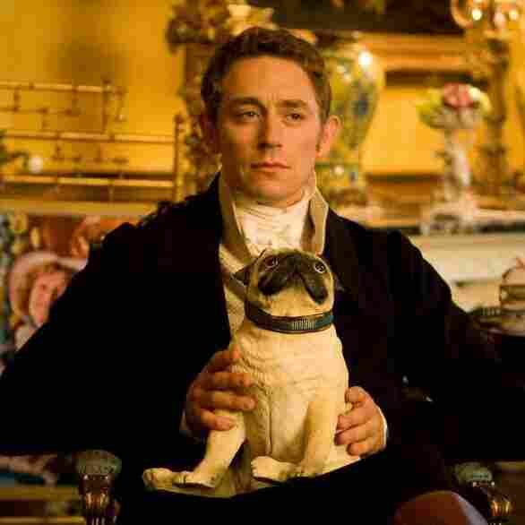 JJ Feild plays an actor who plays Mr. Darcy in the movie Austenland.
