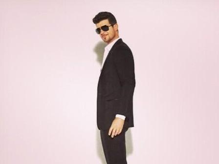 Robin Thicke's Song Sounds Like Marvin Gaye. So He's Suing Gaye's Family.