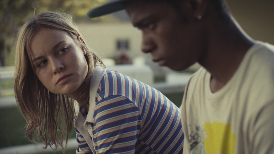In Short Term 12, Grace (Brie Larson) counsels Marcus (Keith Stanfield), an angry young man about to age out of the foster care system. (Cinedigm)