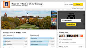 The new University Pages on LinkedIn show which businesses employ a college's graduates, and the sectors of the economy in which they work.