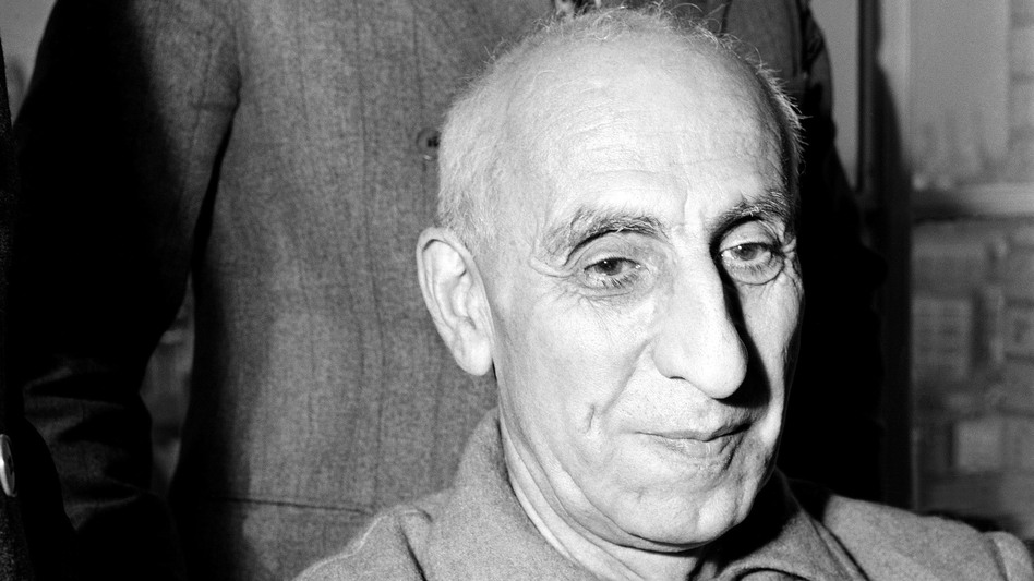 Iranian Prime Minister Mohammad Mossadegh in October 1951. The CIA this week acknowledged publicly for the first time that it played a role in the coup that ousted Mossadegh. (AP)