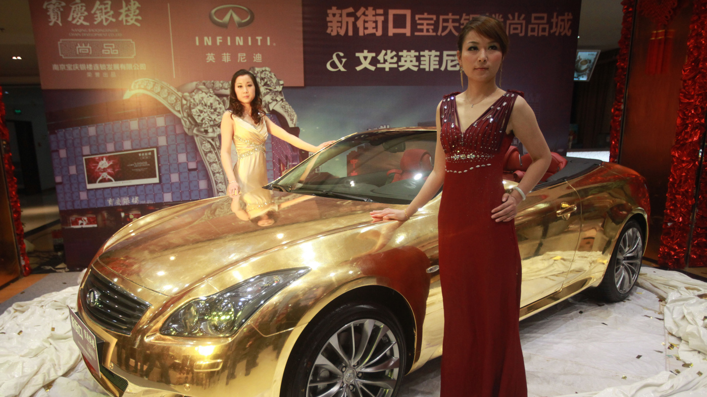 What China's Rich Want: Gold-Plated Cars And Tiger Bits