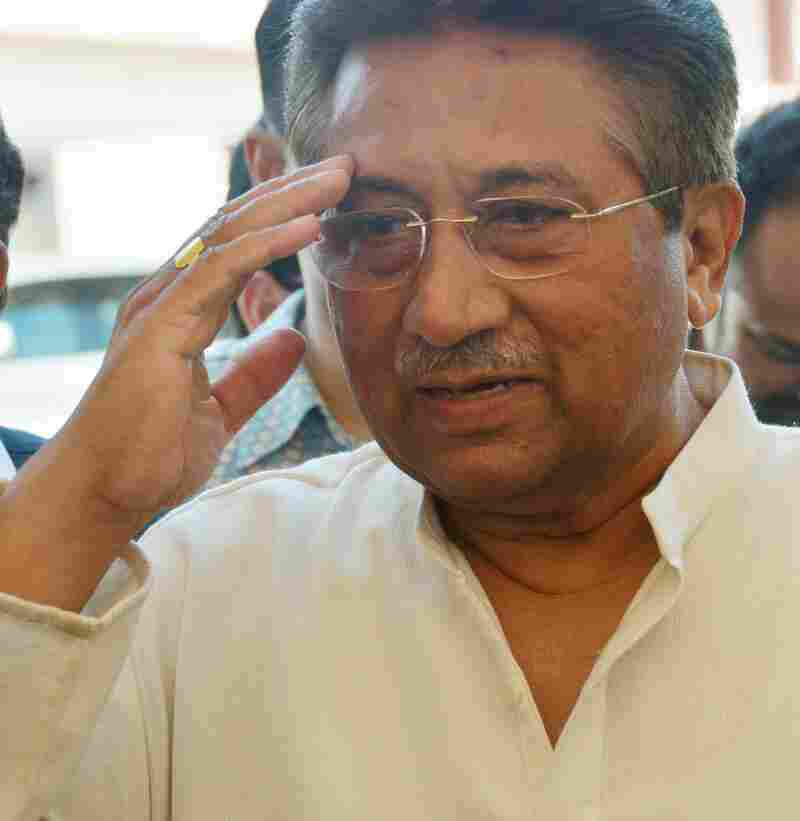 Former Pakistani President Pervez Musharraf in April, near his home in Islamabad.