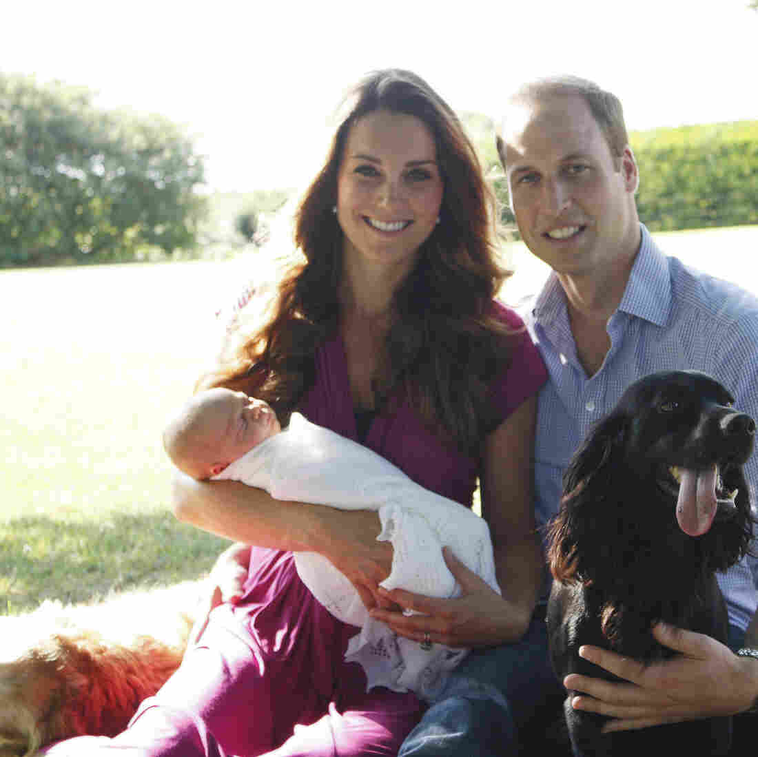 Prince George's First Official Photos Break With Tradition