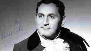 New York native Richard Tucker in the title role of Offenbach's The Tales Of Hoffmann.
