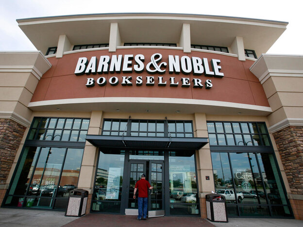 A Barnes & Noble store in Bethel Park, Pa.