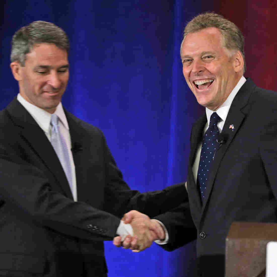 Gender Gap Doesn't Budge In Virginia Governor's Race