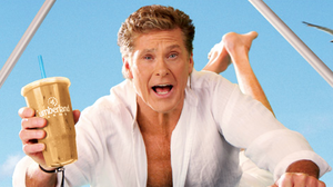 """One of the promotional images for Cumberland Farms' """"Iced Hoffee."""""""