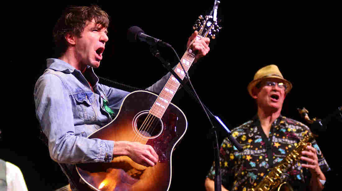 Stephen Kellogg performs on Mountain Stage.