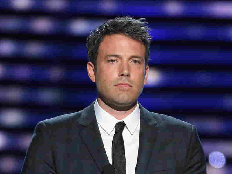 Ben Affleck presents the Jimmy V award at the 2013 ESPY Awards in Los Angeles on July 17.