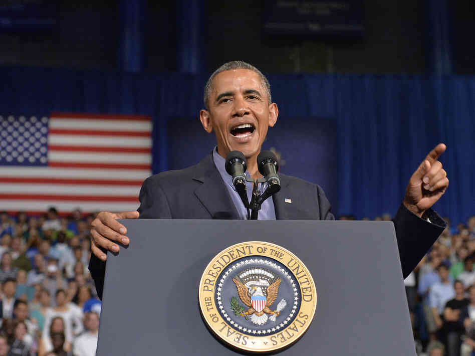 President Obama speaks on education at University at Buffalo,