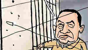 Double Take 'Toons: Mubarak, Breakout Ruler?