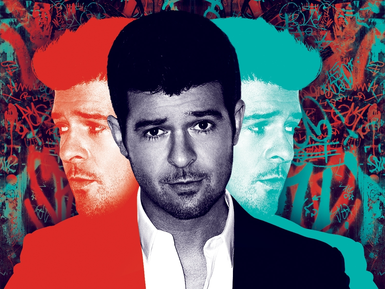 Robin Thicke: Smirky But Sincere On 'Blurred Lines'
