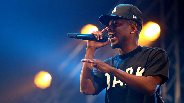 Kendrick Lamar performing in the Netherlands three days before his verse shook up the rap world. (WireImage)