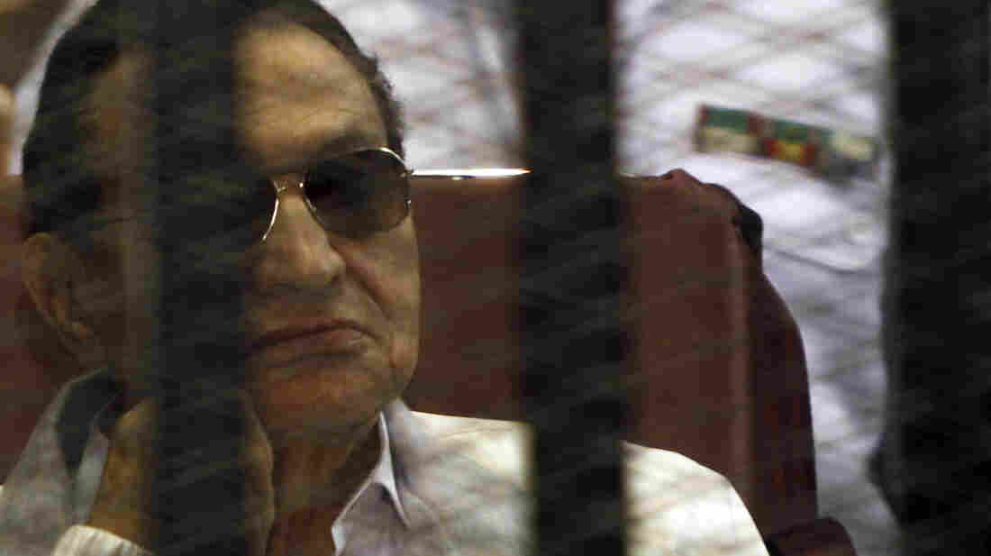 Former Egyptian President Hosni Mubarak was released from prison on Thursday and put under house arrest at a military hospital.