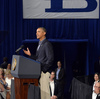 President Obama delivers a speech on education at the University of Buffalo on Thursday.