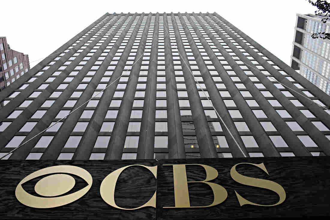 The CBS headquarters seen on August 2, 2013 in New York City.