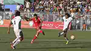 For Pakistan And Afghanistan, Soccer As Reconciliation