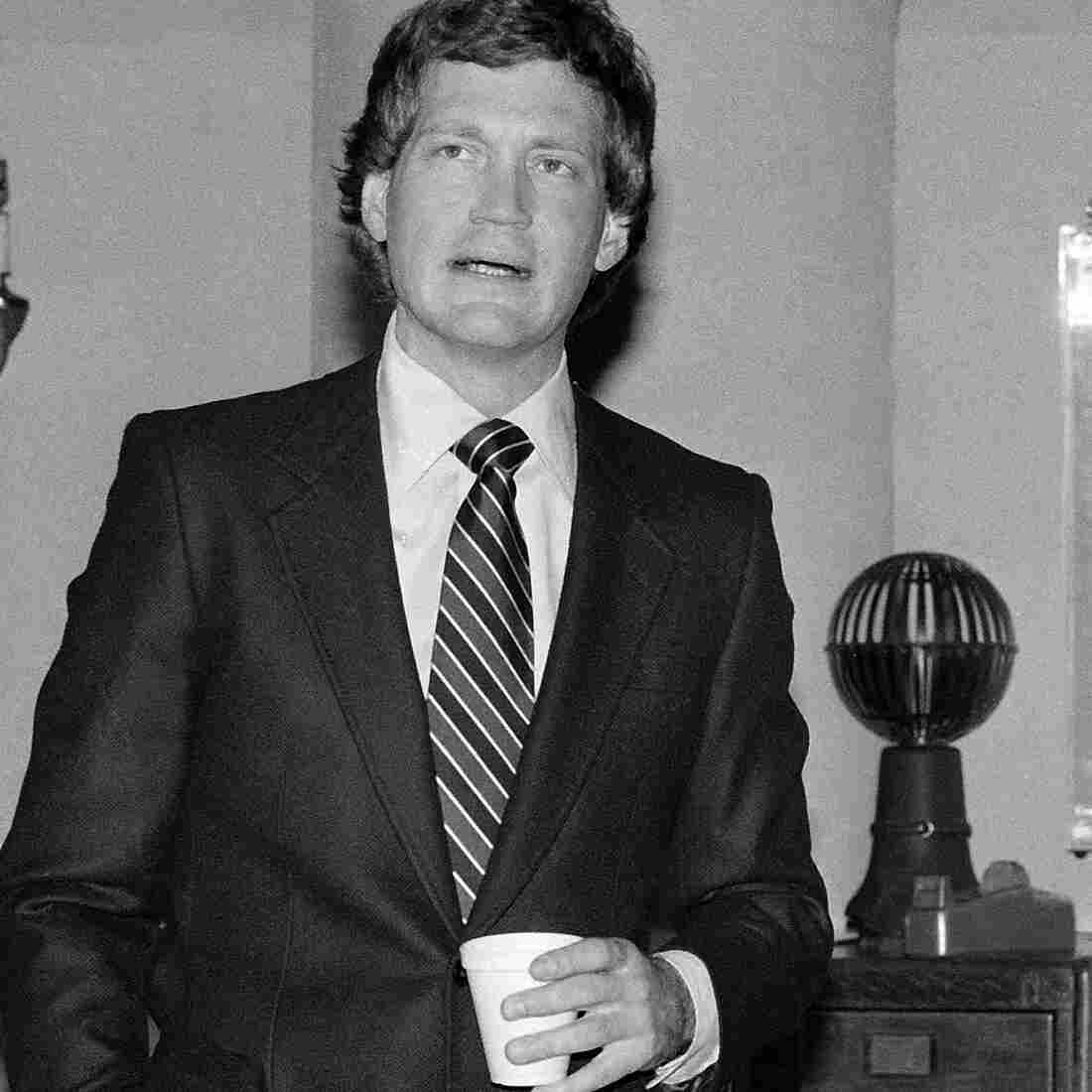 David Letterman, pictured here in January 1982, premiered Late Night With David Letterman just a few months after his Fresh Air interview.