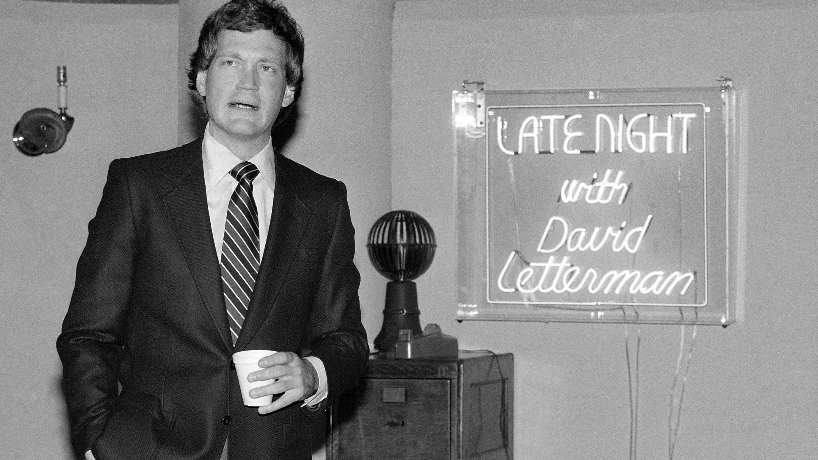 Letterman And 'Tonight' Vet Go Behind The Scenes Of Late Night