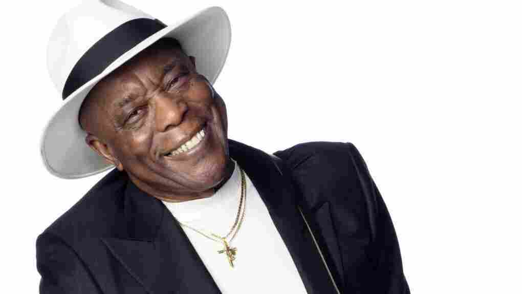 Buddy Guy's new double album is titled Rhythm & Blues.