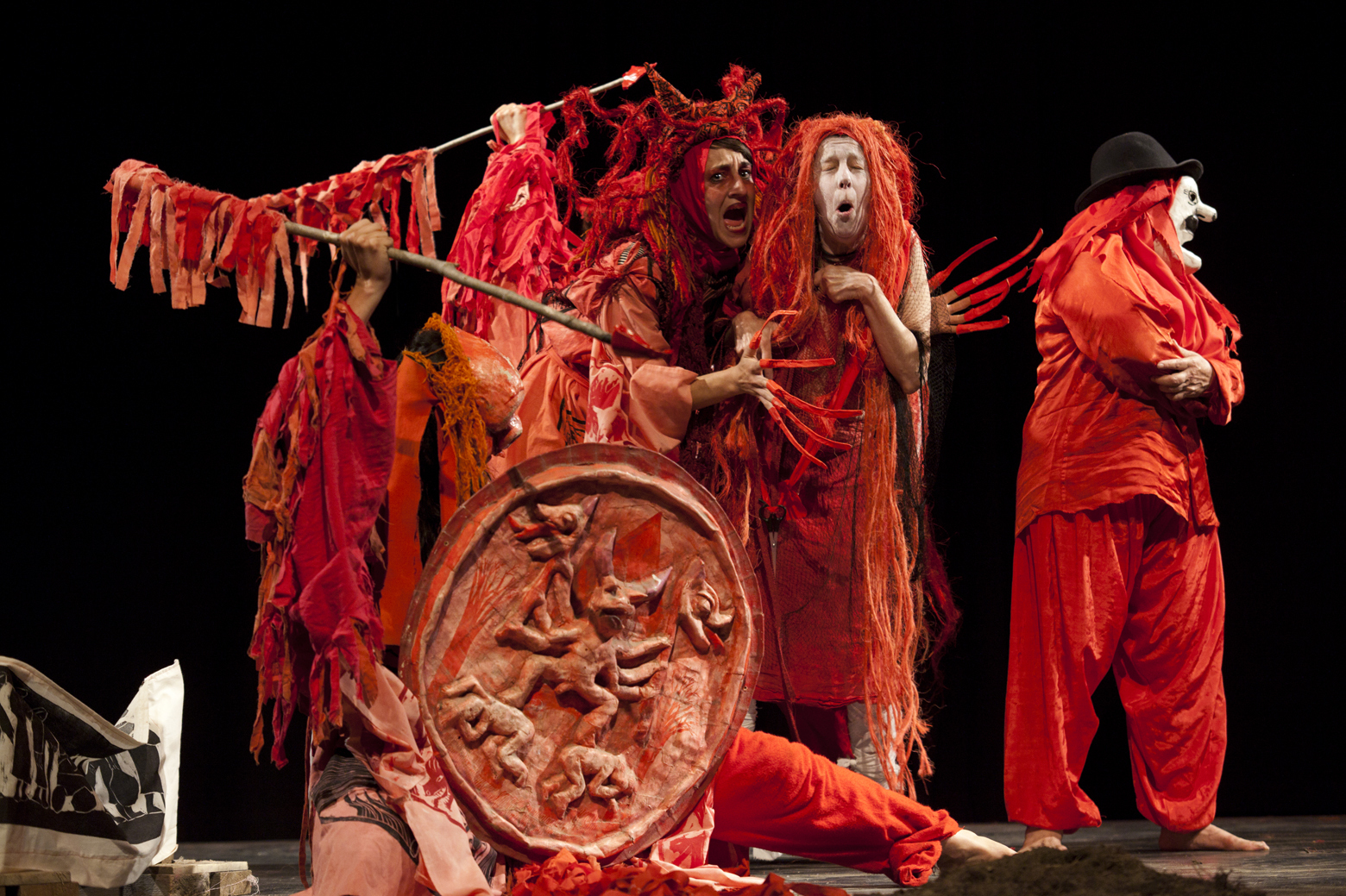 "In honor of its 50th anniversary, Bread and Puppet staged a revival of a show they first performed in 1971 called ""Birdcatcher in Hell."" Forty-two years after the first performance, the revival starred many of the original actors."