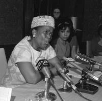 Ella Baker helped Martin Luther King Jr. start the Southern Christian Leadership Conference and was a field secretary for the NAACP, where she worked for black voter registration. She was often referred to as the