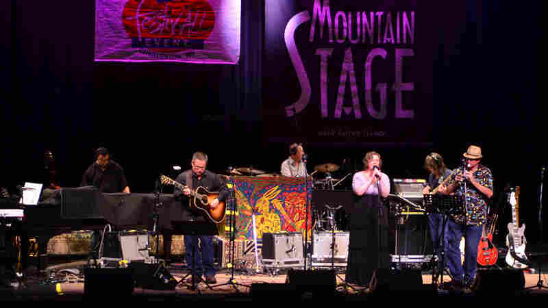 The Fields Of Gettysburg On Mountain Stage