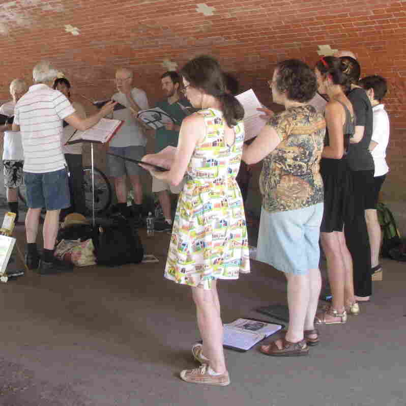 Atheists Take Old Hymns Out Of The Chapel And Into The Streets