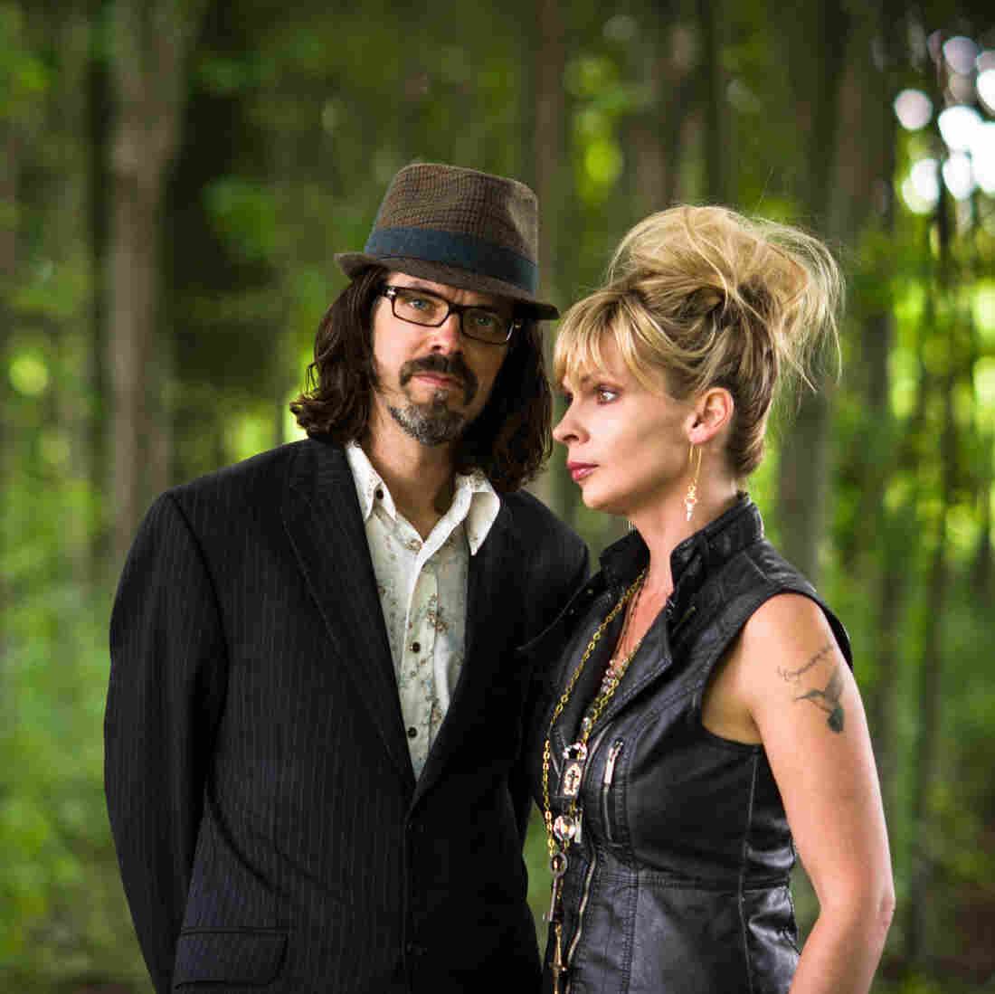 Over the Rhine is the married duo of Linford Detweiler and Karin Bergquist. The pair's new double album, Meet Me at the Edge of the World, is its 15th studio release.