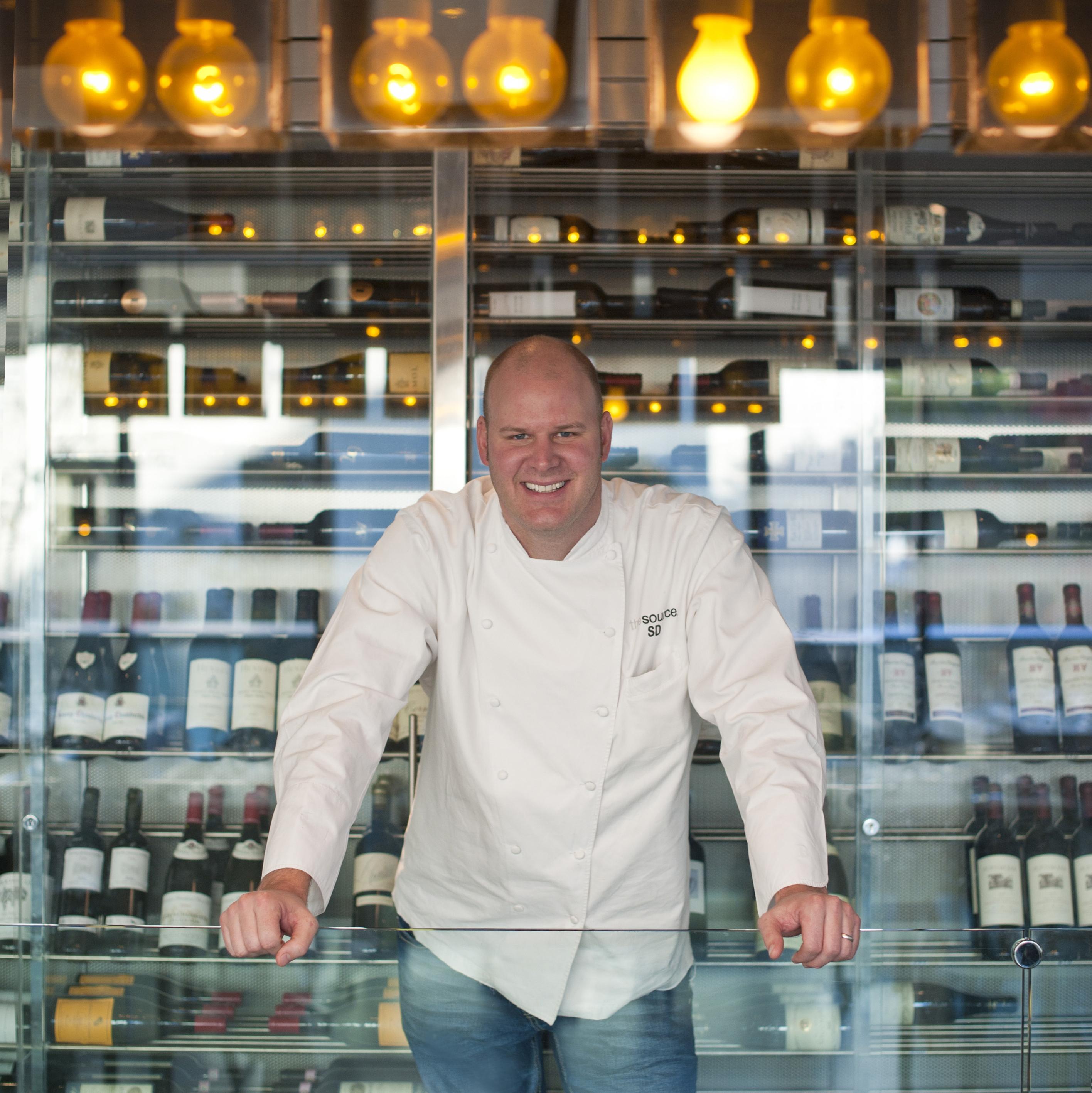 Chef Scott Drewno at The Source in Washington, D.C.