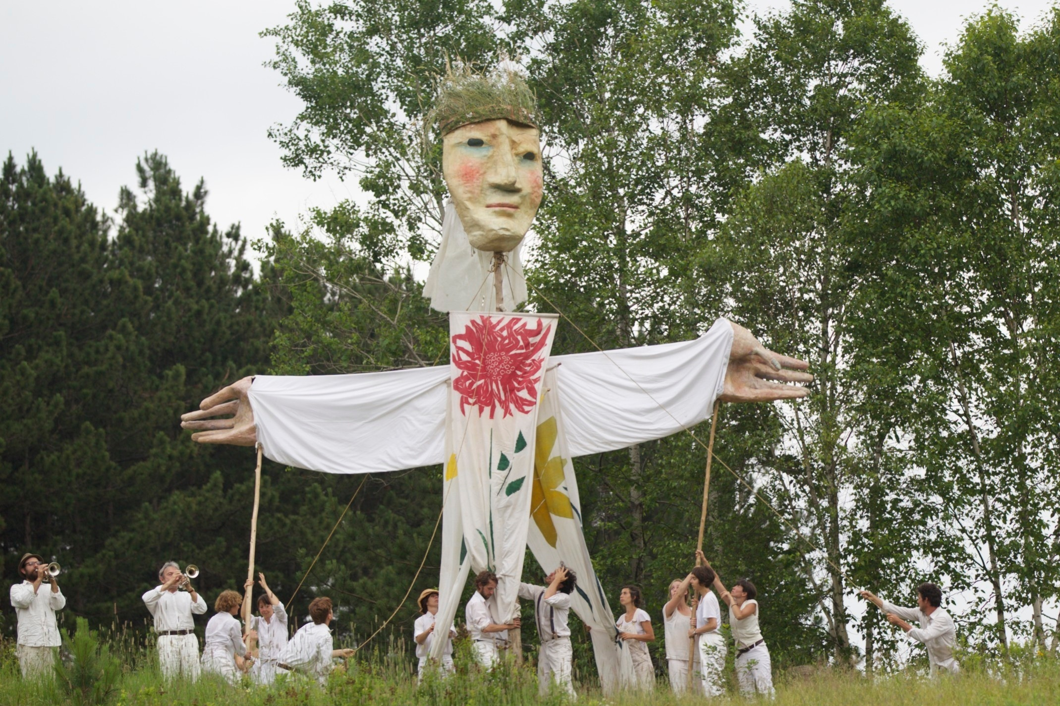 Bread And Puppet Marks 50 Years Of Paper Mache And Protest