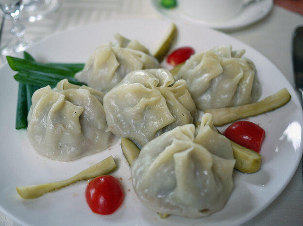 Buuz are the Mongolian take on the dumpling, and are typically filled with mutton or beef. Dump