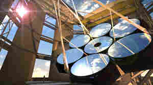 Tons Of Molten Glass Go Into Making Mirror For Giant Telescope
