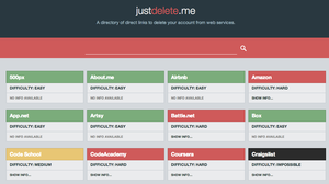 Use This Site To Delete Old Accounts You Don't Use Anymore