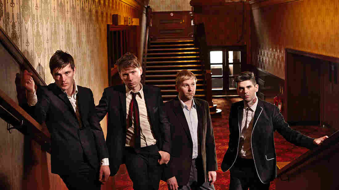 Franz Ferdinand's latest album is titled Right Thoughts, Right Words, Right Action.