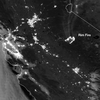LOOK: The California Rim Fire As Seen From Space