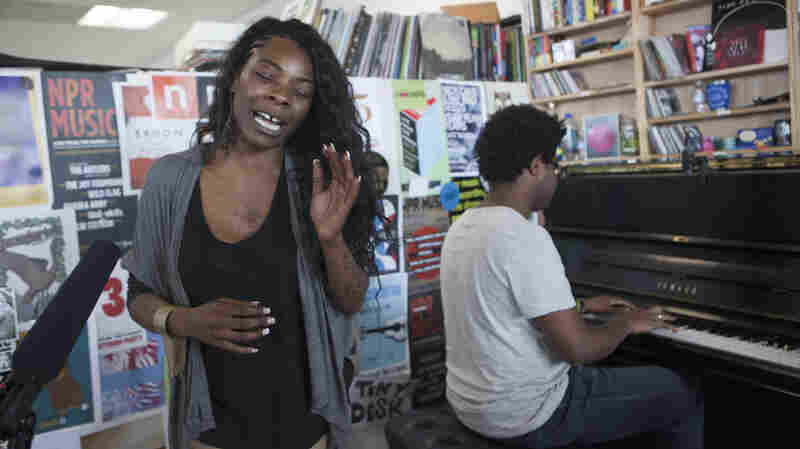 The Buika performs a Tiny Desk Concert in June 2013.