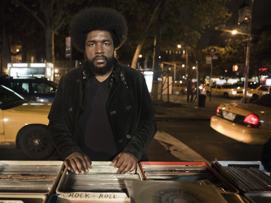 """In his new memoir, Ahmir """"Questlove"""" Thompson describes his life in music — and how he mimicked beats at just 10 months old. (Danny Clinch/Grand Central Publishing)"""