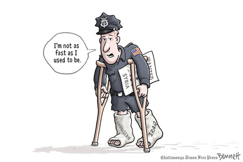 Double Take 'Toons: No Breathing Room On Syria? : NPR